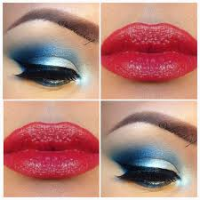 red white and blue makeup to have you rocking your pride this 4th of july