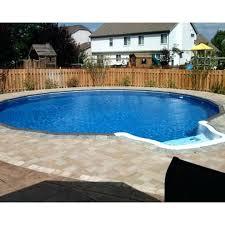 semi inground pool cost. Semi Inground Pool Cost Comfortable Pools Radiant Prices .