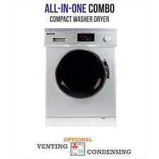 one piece washer dryer.  One Allinone 1200 RPM Compact Combo Washer Dryer With Optional  CondensingVenting Throughout One Piece B