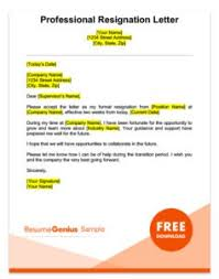 resigning letter format samples resignation letter samples free downloadable letters
