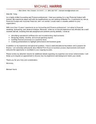 Cover Letter Design Financial Sample Cover Letters For Finance Jobs