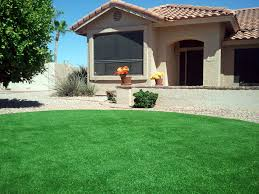 faux turf greenvale new york lawn front