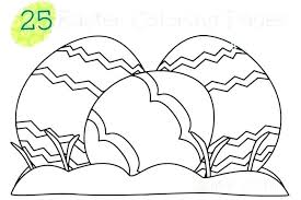 Easter Coloring Pages Free Idrakinfo