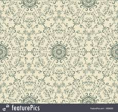 Vintage Wallpaper Patterns Extraordinary Abstract Patterns Vector Seamless Vintage Wallpaper Pattern Stock