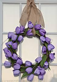 spring easter wreath tutorial easiest wreath ever ucreate