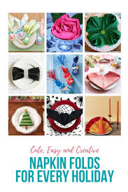Paper Napkin Folding Flower Napkin Folding Ideas For Every Holiday Special Occasion