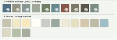 Ply Gem Gutter Color Chart Variform Vinyl Siding Color Chart Best Picture Of Chart