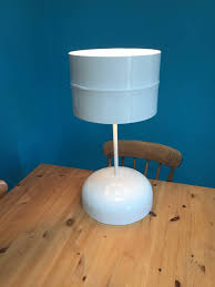 table recycled materials. Hand Crafted Table Lamp Made From Recycled Materials D