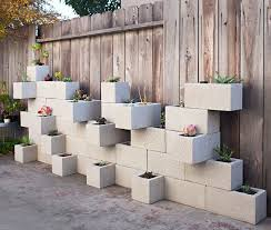 Small Picture Cinder Block Planter Ideas For Your Garden Concrete block walls