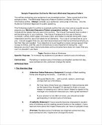 sample speech outline example documents in pdf word speech preparation outline example