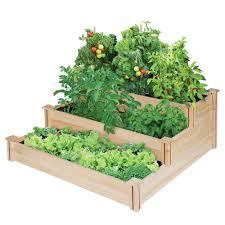 The Kitchen Gardener Garden Greenes Fence Raised Garden Bed With Regard To Marvelous