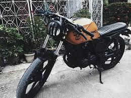bike feature brat cafe haojue hj cool 150 from cebu city cafe