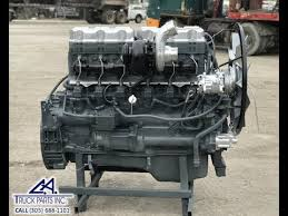 mack e7 460 e tec sel engine serial brd6550 ca truck parts