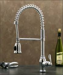 chrome pull down kitchen sink faucet w hand spray head hose pull out spray kitchen faucet