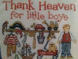 Imaginating Cross Stitch Charts Details About Vintage Thank Heavens For Little Boys Cross Stitch Chart Sue Hillis Imaginating