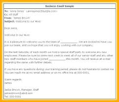 Formal Business Email Template Fresh Business Email Writing