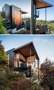 Music Box Residence in Portland, Oregon / Scott | Edwards Architecture.  Wood HousesNew HousesModern ...