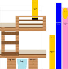 Built In Bed Plans Diy Unique Built In Bunk Beds They Call Me Granola