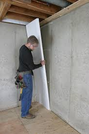 basement wall paintHow to Insulate a Basement Wall  GreenBuildingAdvisorcom