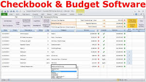 Personal Financial Budget Sheet Personal Finance Software Budget Spreadsheet And Checkbook