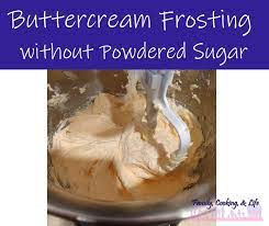 ercream frosting without powdered