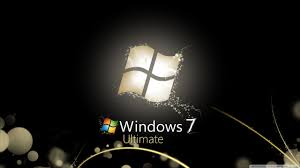 Windows 7 Ultimate Bright Black Ultra ...