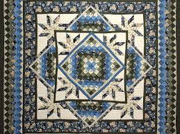 Commons Star Medallion Quilt -- outstanding well made Amish Quilts ... & ... Blue Cream and Dark Green Commons Star Medallion Quilt Photo 3 ... Adamdwight.com