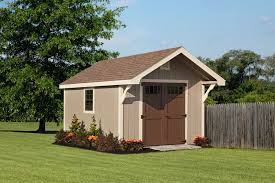 shed new england cape shed w overhang 10 x 14