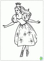 Barbie Nutcracker Coloring Pages Dinokidsorg