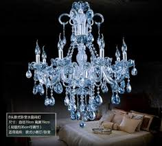 modern water blue crystal pendant lamp chandelier modern pertaining to incredible household blue crystal chandelier prepare