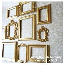 frame sets for wall gold picture frame set wall gallery collection of vintage style photo frame frame sets