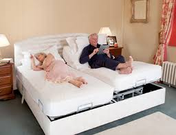 full size mattress two people. Upholstered Adjustable Bed For Two People Full Size Mattress