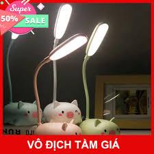 D12 Đèn LED để bàn sạc pin hình thú chống cận thị dành cho học trò sinh  viên tốt giá rẻ
