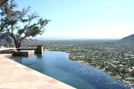 Negative edge pools Tiled Pool Thesynergistsorg Pool Designers Phoenix Mesmerizing Swimming Pool Designers And