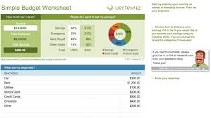 simple annual budget template 15 easy to use budget templates gobankingrates