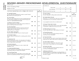 Denver Prescreening Developmental Questionnaire Ii Google