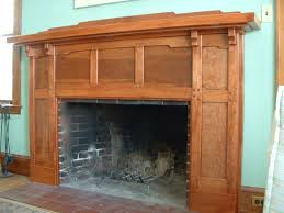 fireplace arts and crafts fireplace mantels mission style