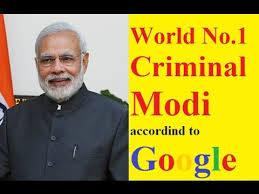 Image result for Modi biggest criminal images