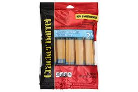 sharp white cheddar. cracker barrel extra sharp cheddar cheese sticks made with 2% milk 10 ct bag white i