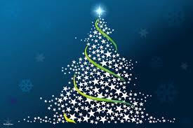 free christmas tree wallpaper. Brilliant Wallpaper 31Christmaswallpapersfreechristmastree Madeoutfstarsbluebackgroundwallpaperjpg For Free Christmas Tree Wallpaper S