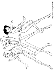totally spies 02 totally spies coloring pages on coloring book info on totally spies coloring pages