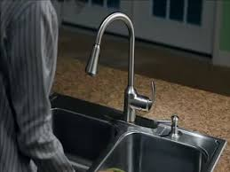 moen arbor with motionsense one handle pull down touchless kitchen faucet with reflex at menards