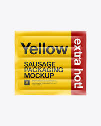 Are you looking for the free mockups to present your design projects? 5 Sausages In Plastic Packaging Mockups Mockups Meaning In Hindi