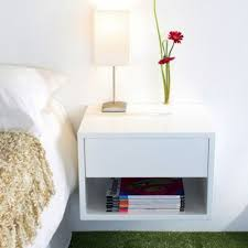 Top Wall Mounted Bedside Table With Floating Wall Mounted Bedside Table