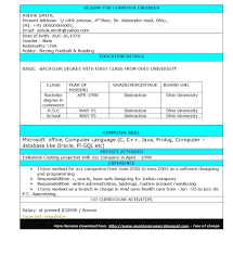 Resume Samples For Computer Engineering Students Resume Online