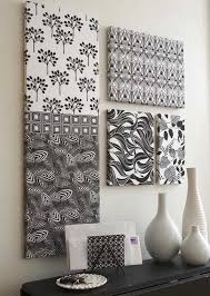 fabric wall art diy canvas art