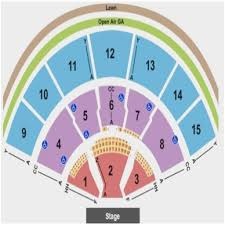 Seating Chart Comcast Center Mansfield Ma Logical Xfinity Center Seat Numbers Meadows Music Center