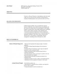 resume examples for massage therapist