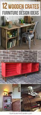 cheap homemade furniture ideas. 12 Amazing Wooden Crates Furniture Design Ideas Cheap Homemade