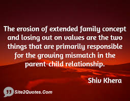 The erosion of extended family concept and losing out on values ... via Relatably.com